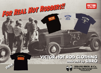 VICTOR HOT ROD CLOTHING