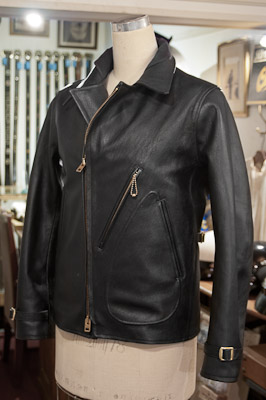 Leather Jacket Aviatos Jacket