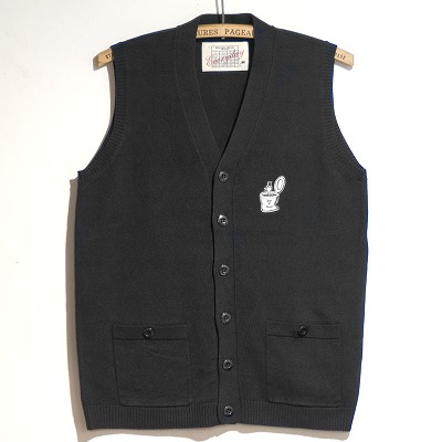 "商品入荷のお知らせ — Old Fart Knit Vest ""Seat of Honor"""
