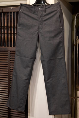 "INDUSTRIAL WORK PANTS ""Jazz Age"""
