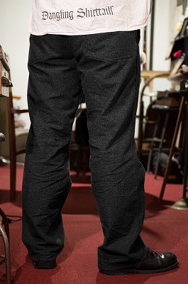 "商品入荷のお知らせ — Industrial Work Pants ""Jazz Age"" Black"