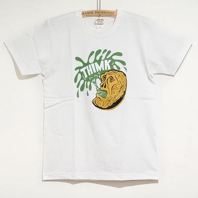 再入荷のお知らせ &mdas; T-shirts THIMK White