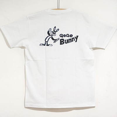 S/S T-shirts GoGo Bunny WH
