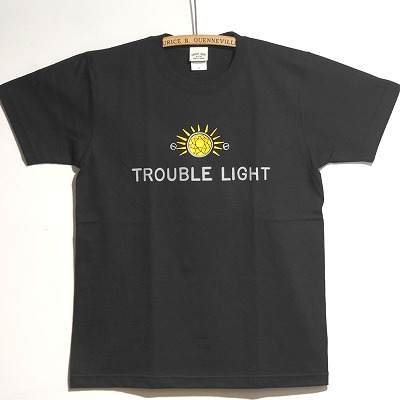 S/S T-shirts Trouble Light 正面写真