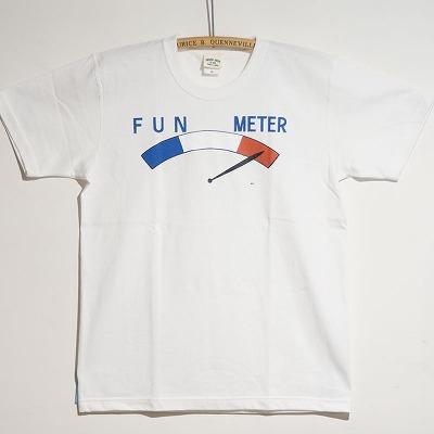 S/S T-shirts FUN METER 正面写真