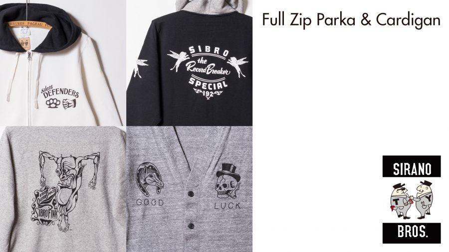 FullZipParka&Cardigan
