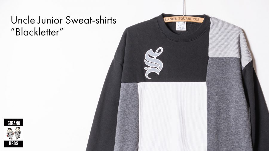 "Uncle Junior Sweat-shirts ""Blackletter"""