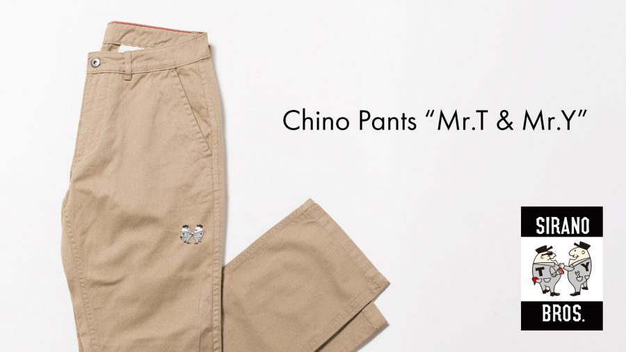 Chino Pants Mr.T&Mr.Y