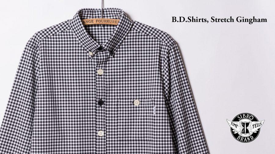 B.D.Shirts Stretch Gingham